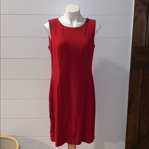 CHICOS classy red dress size 1.5